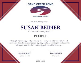 Sue Beiner, SRES