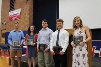 2019  Varsity Blanket Award Winners