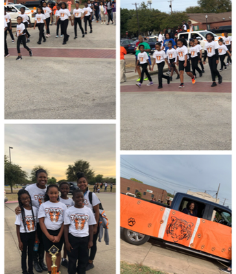 West Main's Step Team Wins 3rd Place