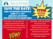 Girls of Promise STEM Conference for 8th Graders
