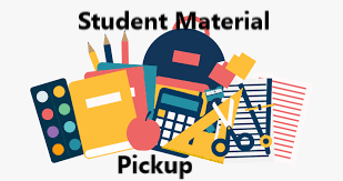 Remote Learning Material Pick-Up Thursdays