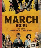 March (Book 1, 2, or 3), by John Lewis
