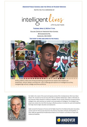 Intelligent Lives, a film screening and dialogue with Dan Habib