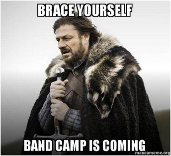 Band Camp: What To Bring