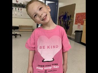 Pink Shirt Day in Pathways!