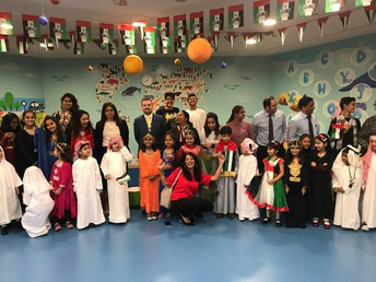 NMS hosts popular RJ Malavika Varadan from City 101.6, to celebrate the UAE National Day
