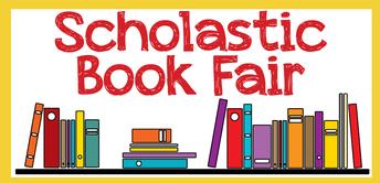 Scholastic Book Fair, October 20-November 2
