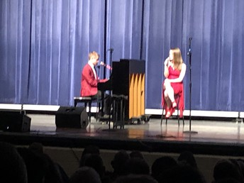 Peter and Anna sing a duet!