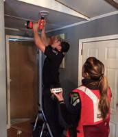 American Red Cross Smoke Alarm Installation