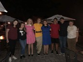 The Cast of Charlie Brown performed at Carolina Blue