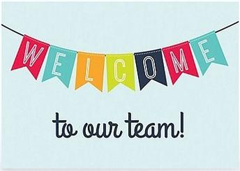 New administrative staff members begin work