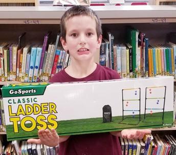 Third Grade Roaring Reader Winner