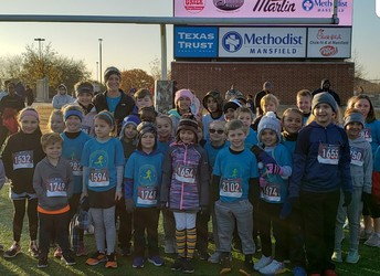 WBA Running Club participating in M4M Race