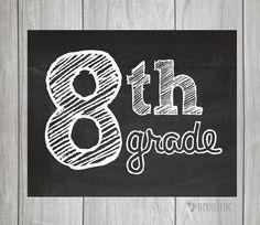 8th Grade Schedule