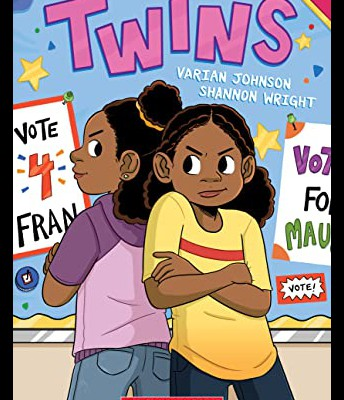 #4 Twins by Varian Johnson and Shannon Wright