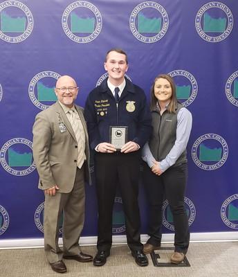 MCBOE Honors Falkville FFA