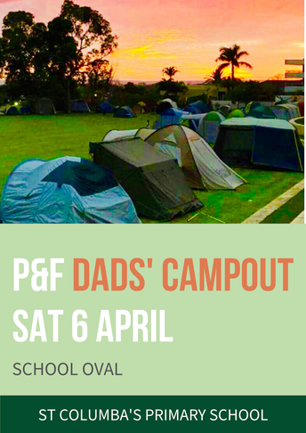 DOSC's Camp Out - Forms in TOMORROW!