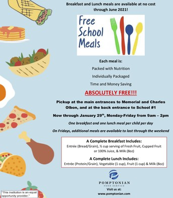 Free meal services continues for all students, free of charge