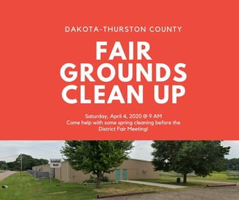 Fair Grounds Clean Up