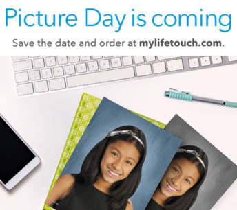 Make up picture day is this Tuesday, November 12