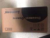 Document camera in box