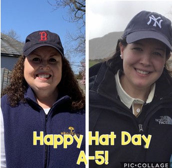 Spirit Week Hat Day!