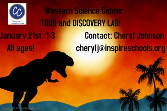 Western Science Center Tour and Disovery Lab!