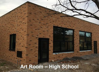Art Room is in the Courtyard