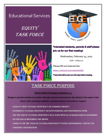 Educational Services Equity Task Force