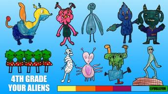 Your Alien Drawings