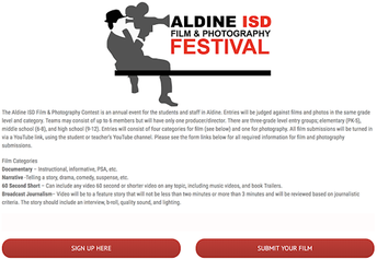 Aldine Film and Photography Festival