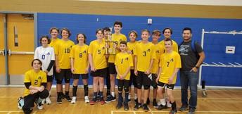 Congratulations Boys Volleyball
