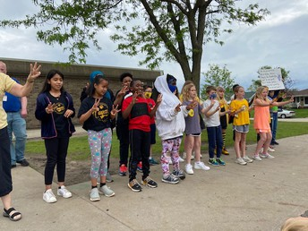 Mrs. Russ' Class shares the new West Willow School Song!