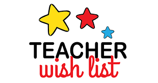 Teacher/Staff Wish List