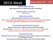 DECA WEEK--CELEBRATING WITH OUR BUSINESS DEPARTMENT ALL WEEK LONG!