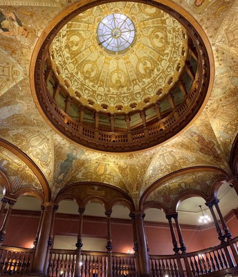 The dome in Ponce de Leon Residence Hall