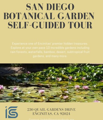 San Diego Botanical Garden Self Guided Tour