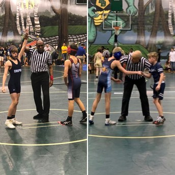Congrats to our CMS wrestlers!