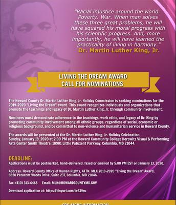Award Nomination Info