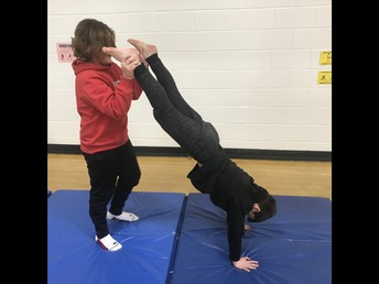 4P Practising Balancing!