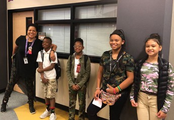 Camo Day for Red Ribbon Week
