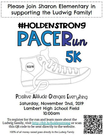 Pacer Run 5K - Supporting the Ludwig Family