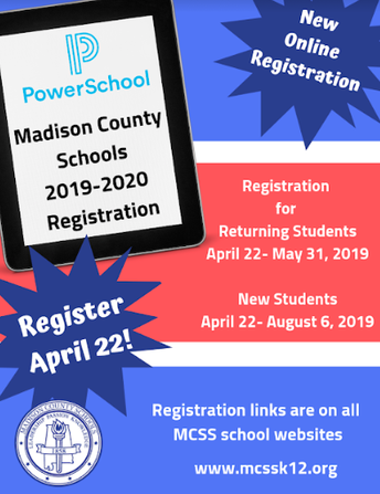 Returning Student Registration Deadline May 31    NEW Student Registration Deadline August 6