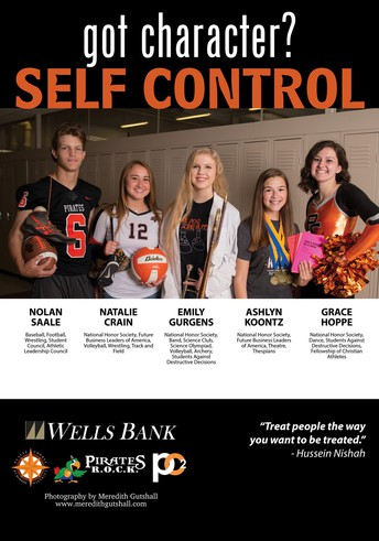 Pirates ROCK Character Trait: SELF CONTROL