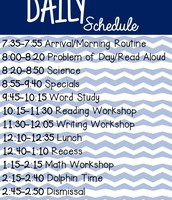 Our Daily Schedule