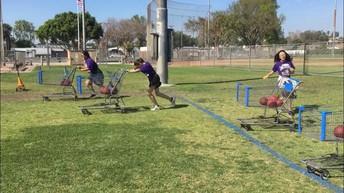 Sled push for Spartan Sprint