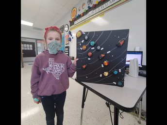 Third Grade Solar System Projects