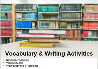 Vocabulary & Writing
