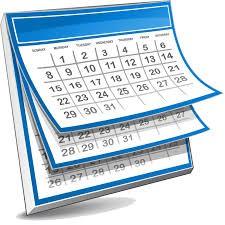 Mark your Calendar....