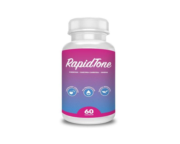 RapidTone Forskolin Bottle